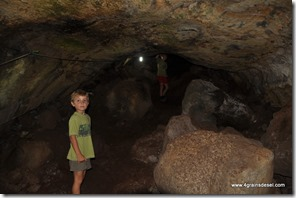 Galapagos - Isla Santa Cruz - Tunnel de lave (5)