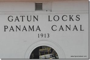 Panama - Ecluses de Gatun (17)