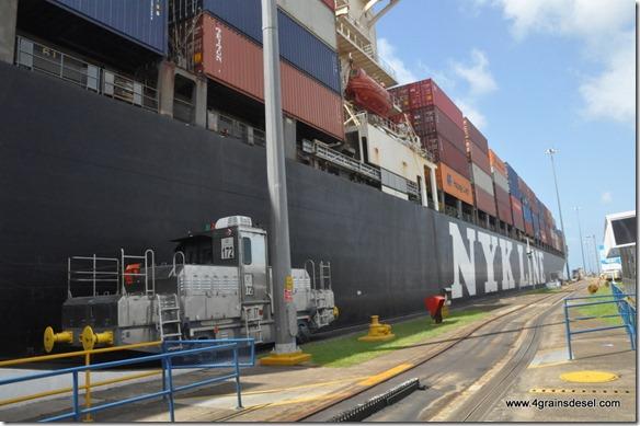 Panama - Ecluses de Gatun (45)