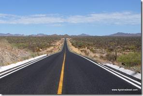 Mexique - Baja California - Route Requeson